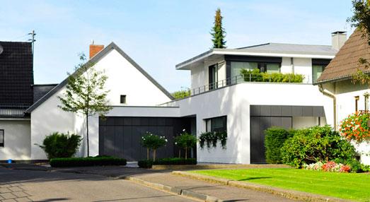 scherf architekten projekte h user privathaus p. Black Bedroom Furniture Sets. Home Design Ideas